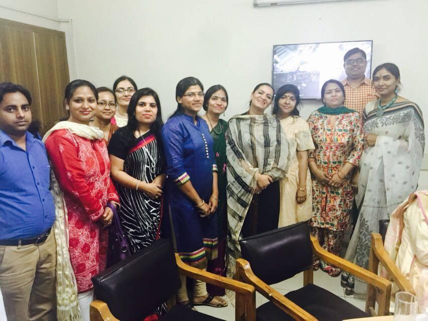 PGDAV College , Lajpat Nagar on 29.3.2016