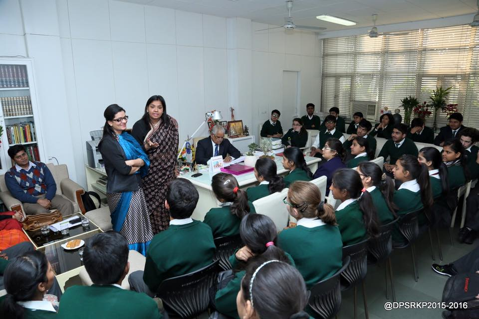 LEGAL LITERACY CLASSES AT DELHI PUBLIC SCHOOL, R K  PURAM ON 21 12