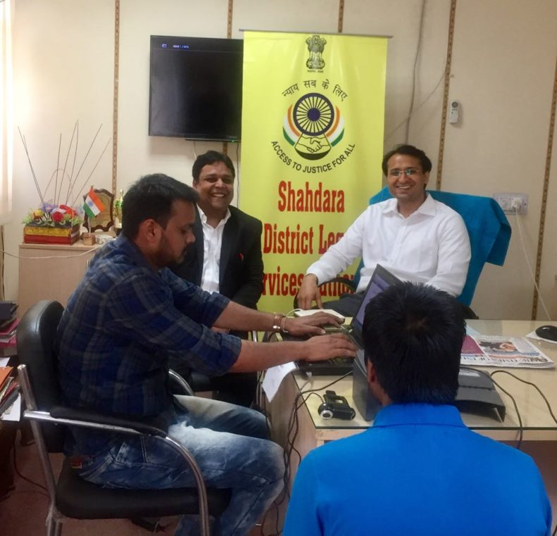 Camp for preparation of Adhaar Cards for Juveniles lodged in Observation Home, Sewa Kutir Complex on 25.03.2017