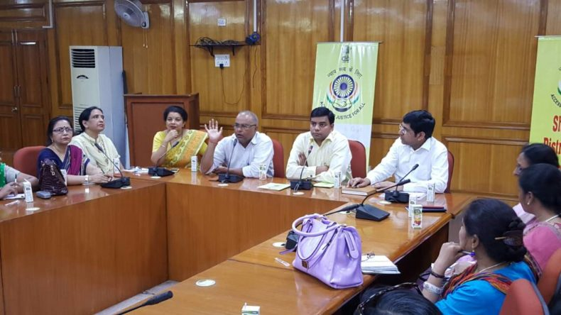 Meeting with Principles regarding Mass Legal Literacy Campaign on 25.04.2017