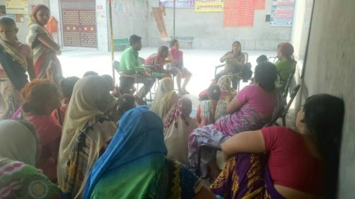 Awareness Programme at rural/remote area, Sunder Nagari, Delhi-110093 on 27.04.2017