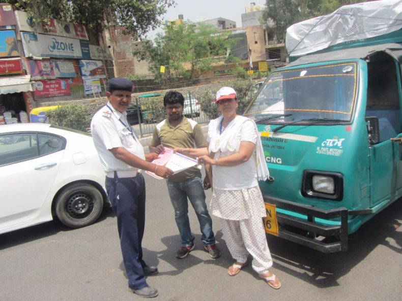 Organized a Global Road Safety Week from 8th May to 14th May 2017