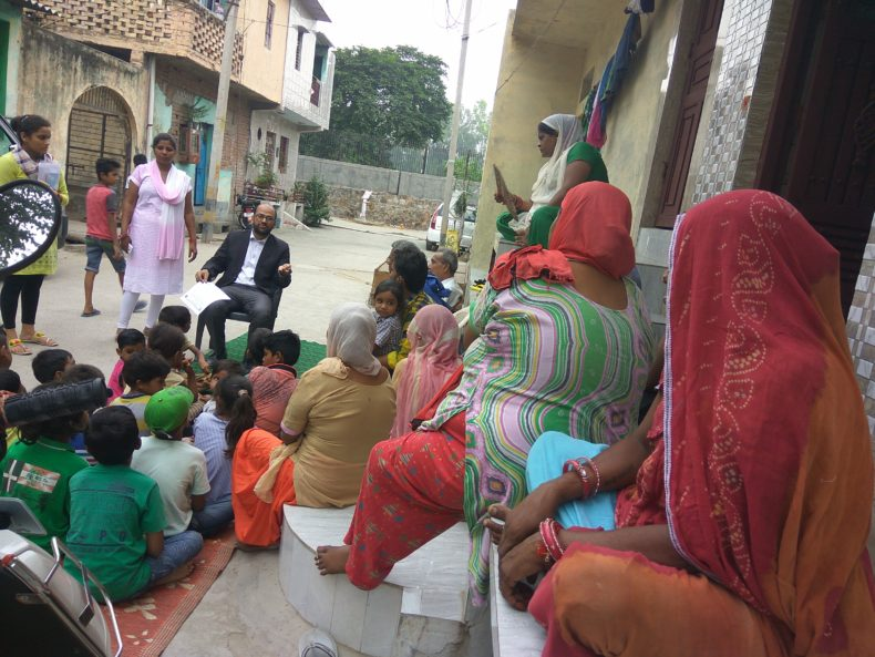 Awareness Programme at Rural and remote area on 09.08.2017