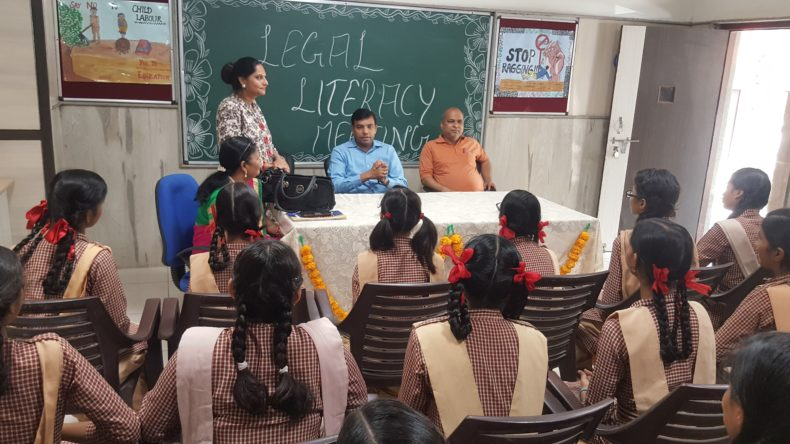 Pursuant to the directions of Hon'ble The executive Chairperson, National Legal Services Authority, Govt. Girls Senior Secondary School, Vivek Vihar, Phase-II, Delhi had been identified for Legal Literacy Club where infrastructure i.e. Computer, Tables, Almirah, Revolving Chairs and Plastic Chairs were provided and Legal Literacy Club was inaugurated by Ld. Secretary, DLSA Shahdara on 10.04.2018.