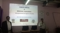 "Legal Literacy Classes on Module of Sexual Violence ""Child Abuse and Violence-Interpersonal and Digital World"" was conducted for Children studying in class 9th to 12th Class at Govt. Girls Senior Secondary School, Shivaji Park, Delhi on 11.07.2018."