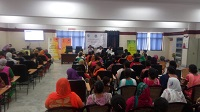 Legal Awareness Programme on women and Child Rights was organized on 07.08.2018 for participants from downtrodden communities particularly women and children at Swabhiman Parisar, Kasturba Nagar, Delhi.