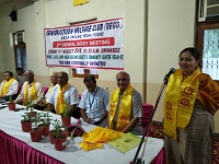 """DLSA Shahdara organized a Legal Awareness Programme on the topic """"Benefits to Senior Citizens, Maintenance and Welfare of Senior Citizens (MWPSC) Act, 2007"""" at AGCR Corp House Building Society, Community Centre, Shahdara, Delhi on 19.08.2018"""