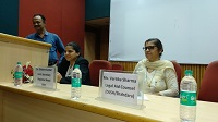 "DLSA Shahdara conducted a Legal Awarenes Programme on the topic ""Sexual Harassment of Women at Workplace (Prevention, Prohibition and Redressal) Act, 2013"" at The Institute of Chartered Accountant of India (ICAI Bhawan) 53, 53 & 54, Vishwas Nagar, Shahdara, Near Karkardooma Court Complex, Delhi-110032 on 28.09.2018."
