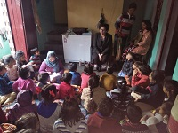 """DLSA Shahdara organized a Legal Awareness Programme on the topic """"Protection of Children from Sexual Offences Act, 2012"""" on 13.12.2018 at A – Block, Nand Nagari, Delhi."""