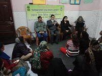 """DLSA Shahdara organized a Legal Awareness Programme on the topic """"Gender Discrimination & Violence with emphasis on recourse available in Law"""" for general public at A-483, 20 Foot Road, Main Market, Meet Nagar, Delhi on 31.01.2019."""