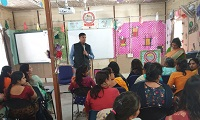 "Ld. Secretary, DLSA Shahdara delivered a lecture INSET Programme conducted by DIET (District Institute of Education & Training), Dilshad Garden, Delhi on the topic ""Laws relating to children, particularly Protection of Children from Sexual Offences Act, 2012 & Juvenile Justice (Care and Protection of Children) Act, 2015"" on 25.03.2019 at Conference Hall, District Institute of Education & Training, J&K Pocket, Dilshad Garden, Delhi-110095."