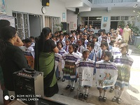 "DLSA Shahdara in association with Samarasta Foundation organized a Legal Awareness Programme on the topic ""Rights of Children to Free and Compulsary Education Act, 2009"" programme had been followed by a Rally by the students of Gyaan Deep School, Gali No. 7, Idgaah Road, Bholanath Nagar, Shahdara, Delhi-110032 on 10.04.2019."