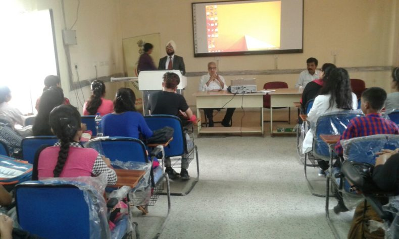 """Legal Literacy Classes on the topic """"Anti Ragging"""" on 02.08.2017"""