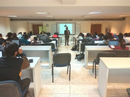 Interation with NLU Students