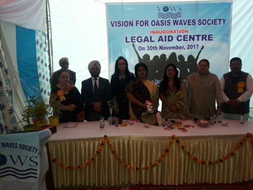 Inauguration of Legal Aid Centre at Radhika Apartment, Sec-14, Dwarka