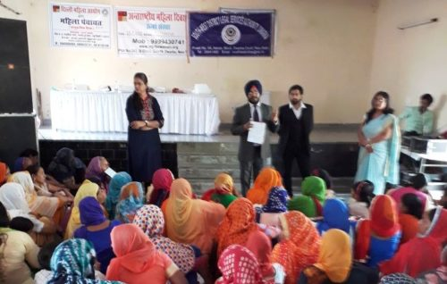 Legal Literacy Camp on Womens Rights on 15.03.2018