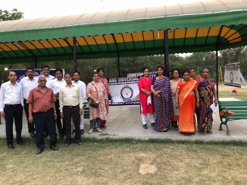 World Environment Day on 05.06.2018 at Sector-11, Dwarka