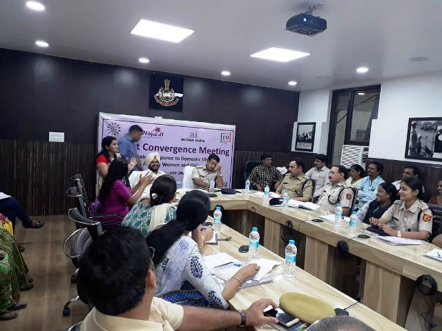 Convergence Meeting on Women Issue on 11.07.2018