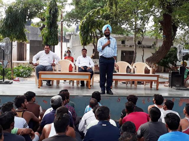Providing legal aid to the inmates of Central Jail – 04 Tihar