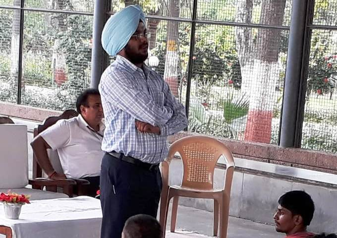 Providing legal aid to the inmates of Central Jail – 01 Tihar
