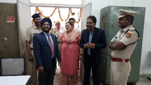 Inauguration of Legal Aid Clinic at the Court of Spl Executive Magistrate, Dwarka