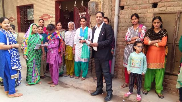 Door to Door Campaign to spread the reach of Legal Aid Services