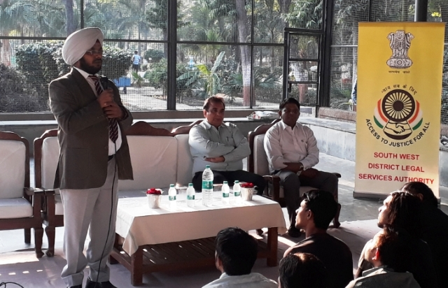 Providing legal aid to inmates of Central Jail -01 Tihar