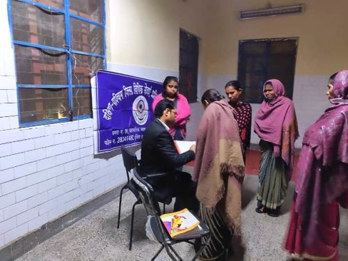 Awareness Programme in Night Shelters