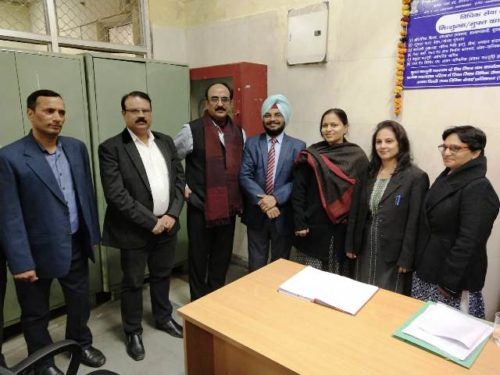 Inaugration of Legal Aid Clinic at Labour  Office