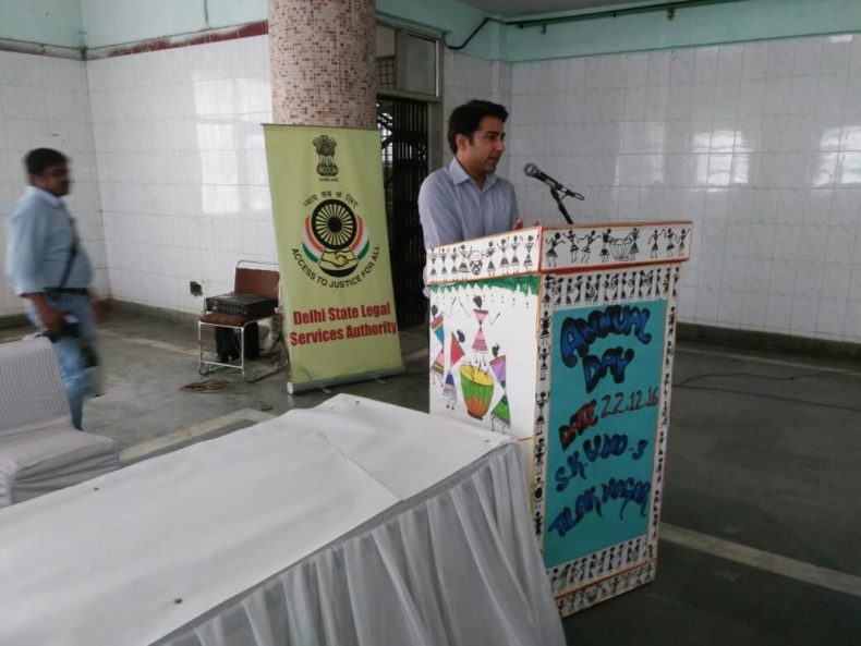 DLSA West organized a legal awareness programme for the senior citizens