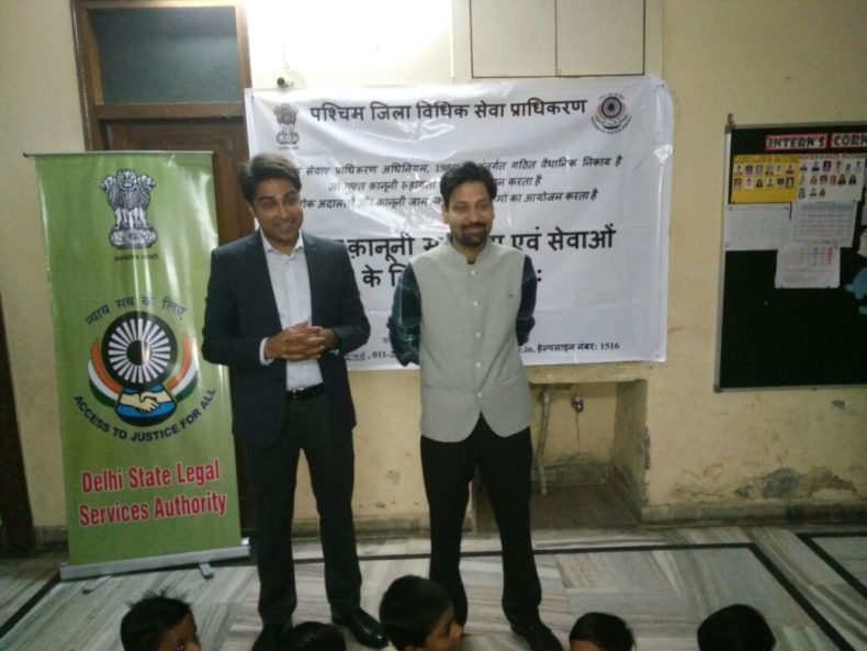 In the observance of *Children Day* (14th Nov), *Central & West DLSA* in coordination with *Shiksha Rath NGO*