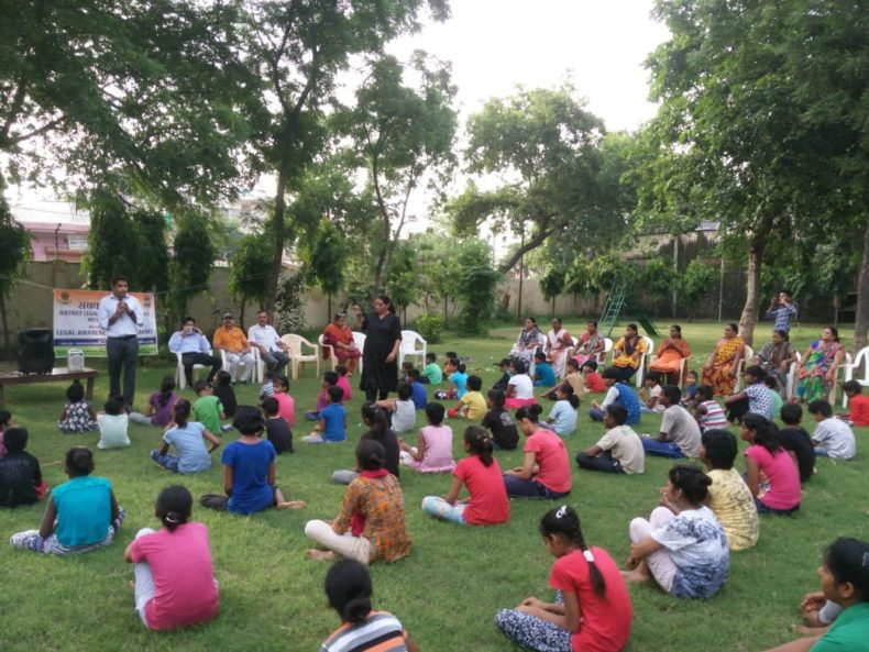 Organised Legal Awareness cum self defence training Programme for childrens at SOS