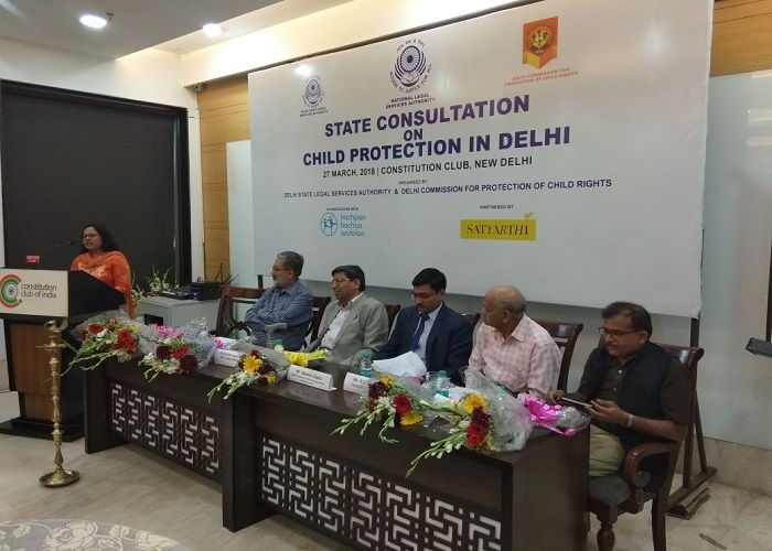 State Consultation on Child Protection in Delhi.