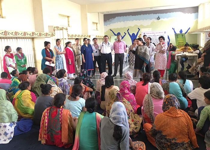Legal Awareness and Health Camp for female inmates