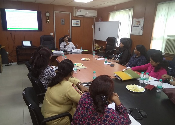 Orientation and Training Programme for CIC Counsellors of Delhi Commission for Women.