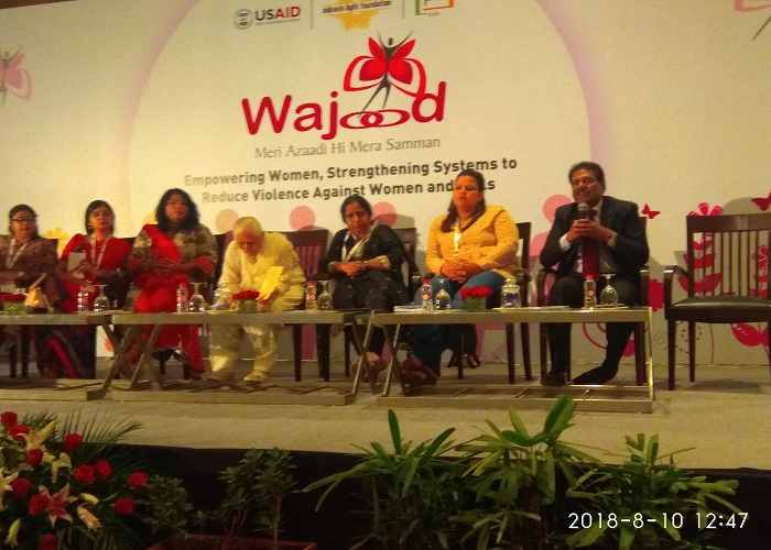 "Conference organized by ""Wajood""- Women's Identity with Dignity"